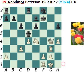 Puzzle 19  Korchnoi-Peterson