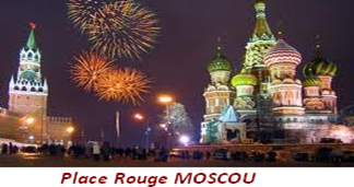 Place Rouge Moscou