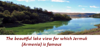 Jermuk (beautiful lake view in Arminia)