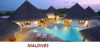 Maldives (451 kilomètres au sud de l'Inde)