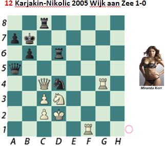 Puzzle 12  Karjakin-Nikolic
