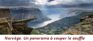 Norvège.Un panorama à couper le souffle