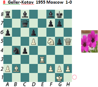 Puzzle 8  Geller-Kotov Chess Beauty puzzles