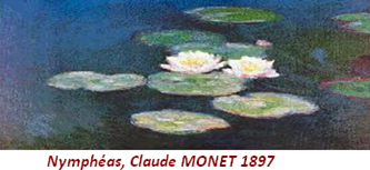 Nymphéas, Claude MONET 1897