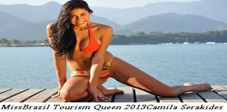 Miss Brazil Tourism Queen Camilia Serakides
