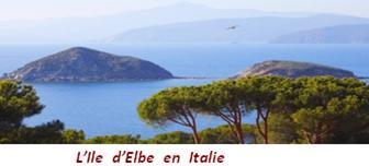 L'ile d'Elbe en Italie