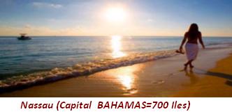 Nassau (Capital Bahamas=700 îles)