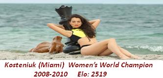 Alexandra Kosteniuk (Miami)
