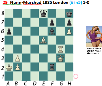 Puzzle 29  Nunn-Murshed  (# in 5)