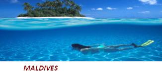 Maldives(1 190 îles dans l'océan Indien)
