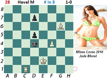 puzzle 28  Havel M (study)    # in 3