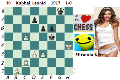 puzzle 30  Kubbel Leonid (study) 1917  1-0