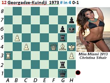 puzzle 12  Georgadzé-Kuindji 1973 # in 4