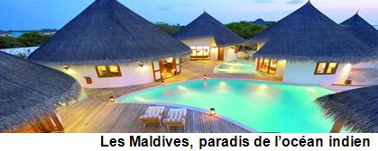 Les Maldives, paradis de l'océan Indien