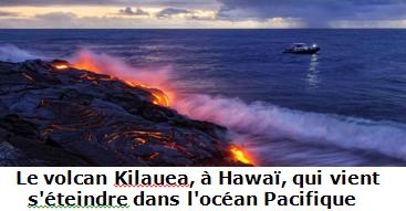 Le volcan Kilauea, à Hawaii
