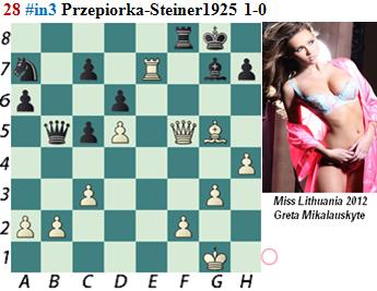 puzzle 28 Przepiorka-Steiner 1925  # in 3   1-0
