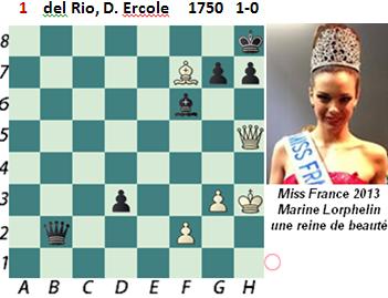 puzzle 1  del Rio (study)  1750  1-0