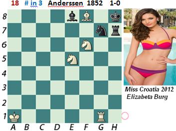 puzzle 18   Anderssen 1852  (study)   # in 3